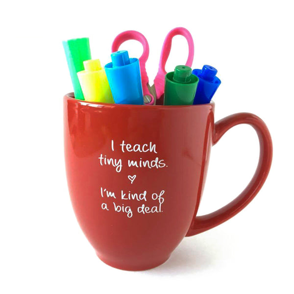 teacher mug kind of a big deal teacher gift