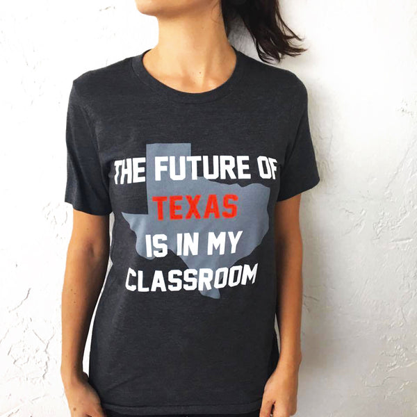 future of texas teacher t-shirt bored teachers