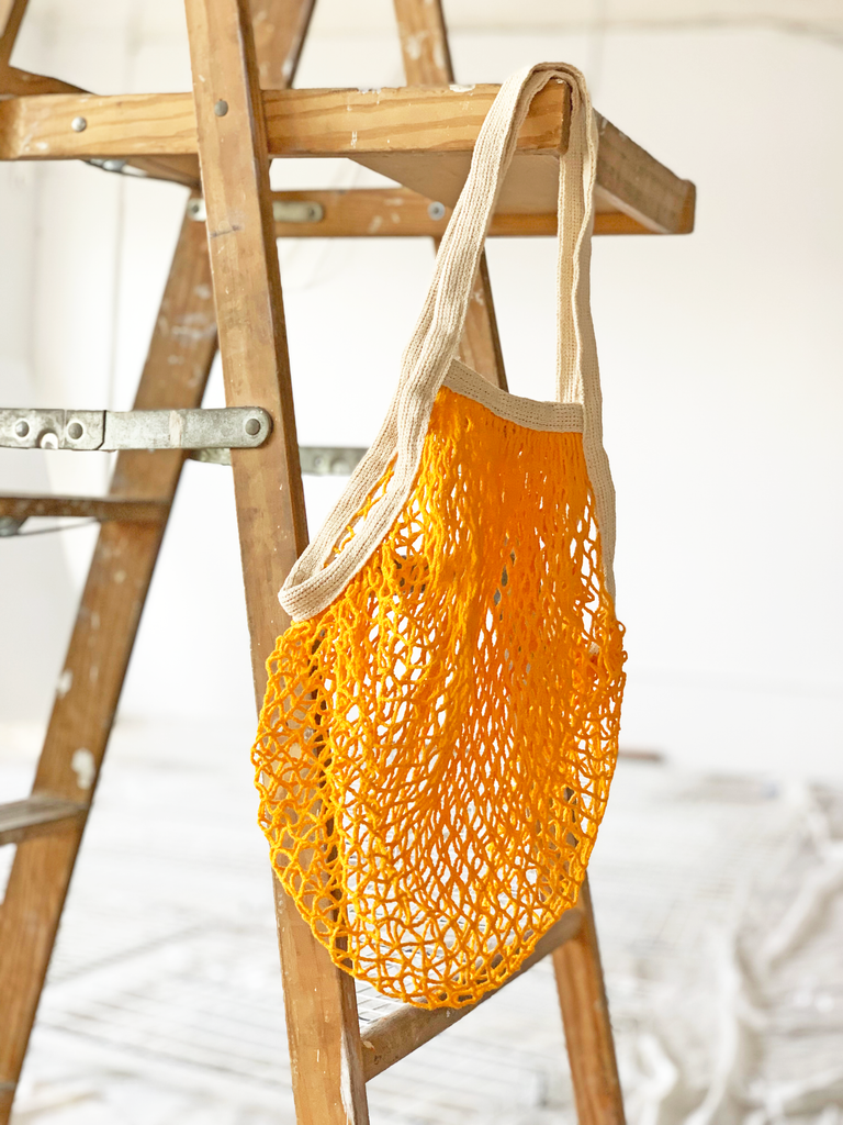 Product Spotlight: French Market Bag in Tangerine