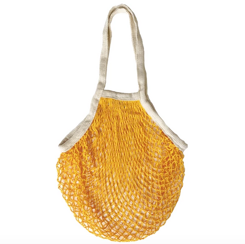 orange net bag