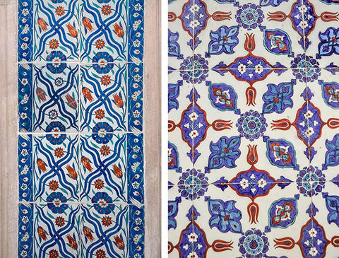Tiles from The Rustem Pasha Mosque