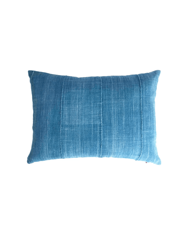 indigo petite mud cloth pillow
