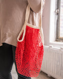 the french market bag in red limited edition