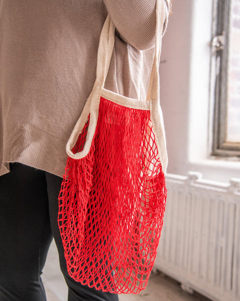 the french market bag in red