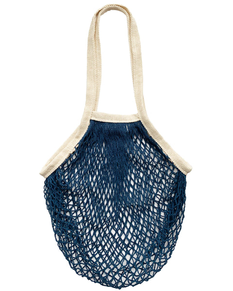 french market bag in deep sea