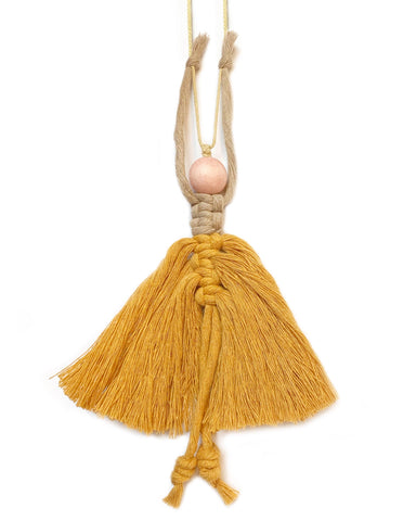 ballerina ornament in ochre