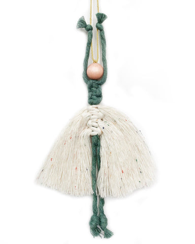 ballerina ornament in pine