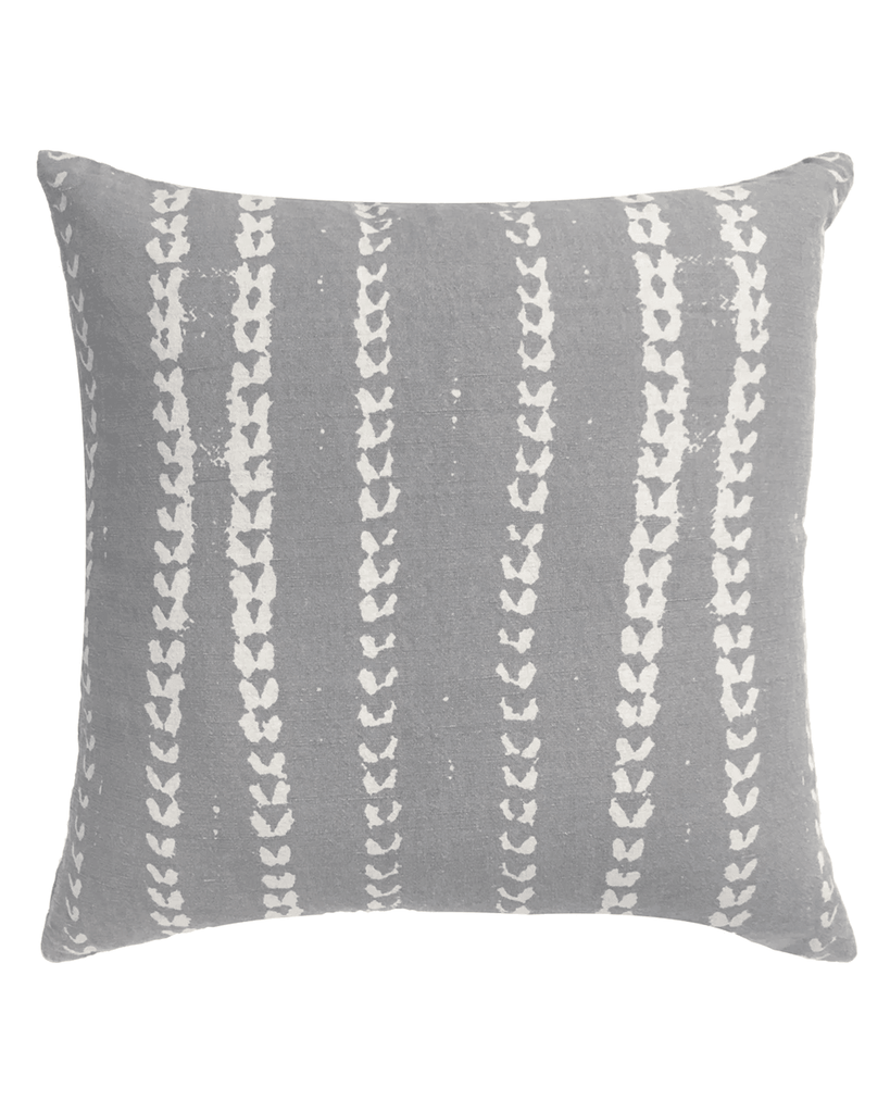 vines pillow in grey