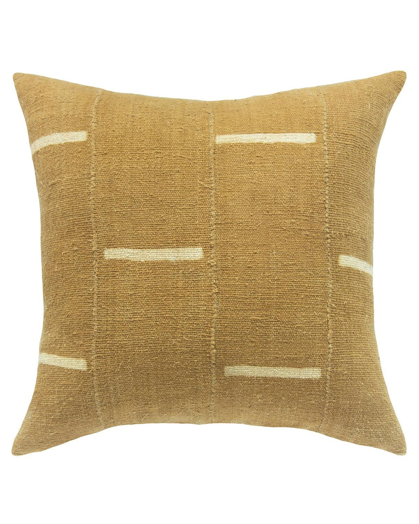 dash mud cloth pillow in tan