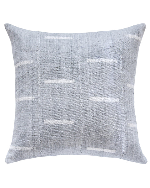 dash mud cloth pillow in grey MADE TO ORDER