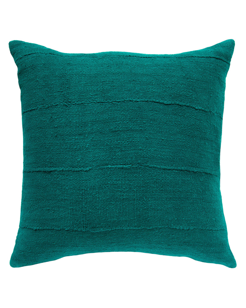 solid mud cloth pillow in pine