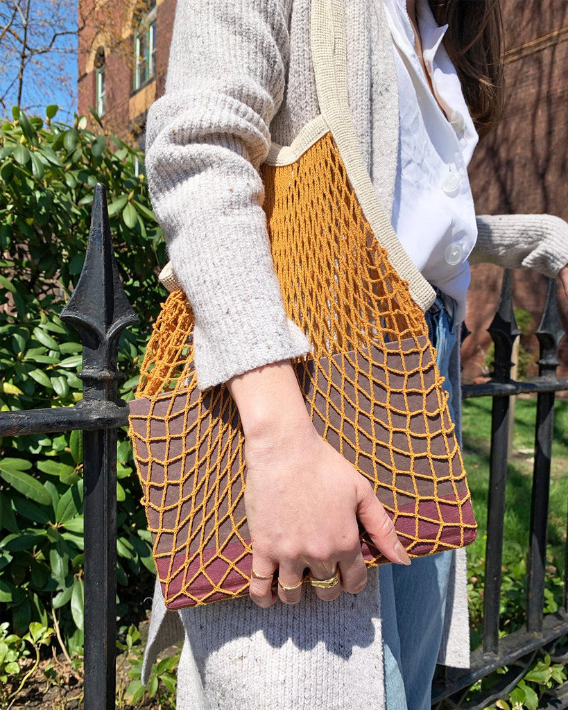 the french market bag in goldenrod