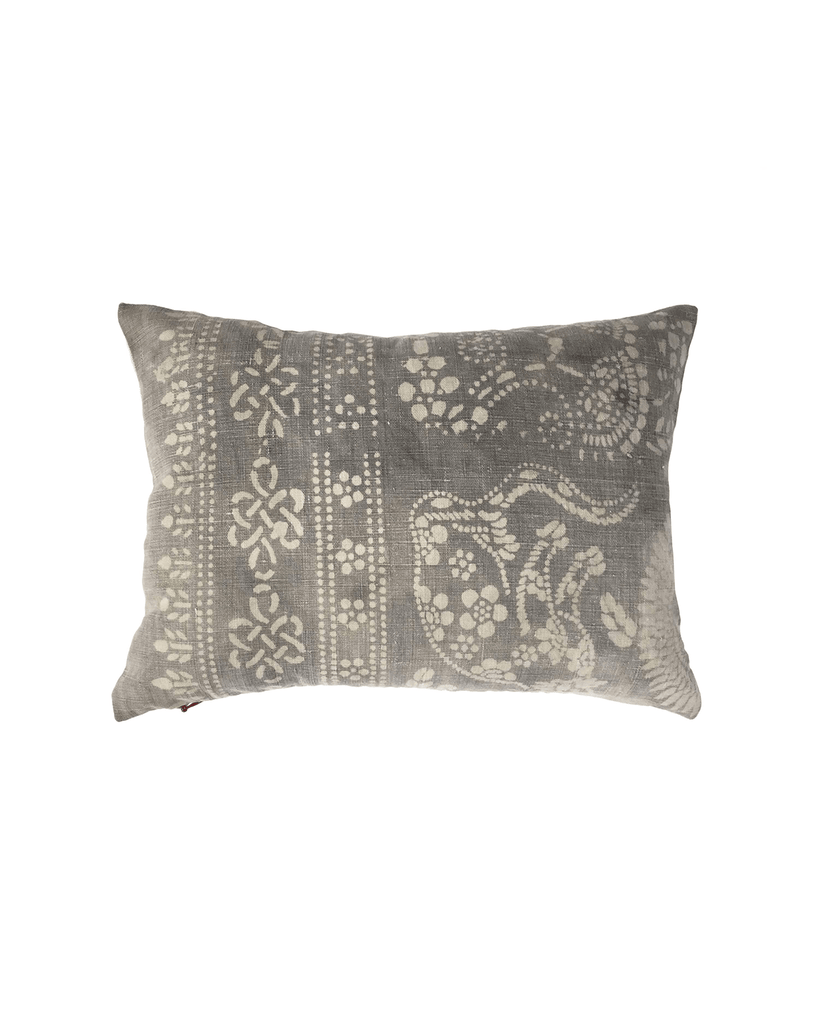 hmong grey petite pillow