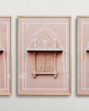pink city triptych