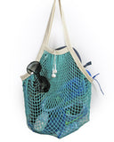 the french market bag in aqua