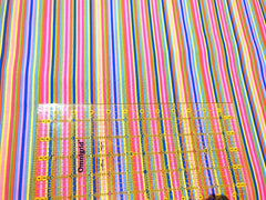 Sassy Stripes- Spring Fever - Rainbow - by Jane Sassaman