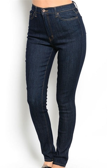 Basic Blue Jeans - sophique apparel