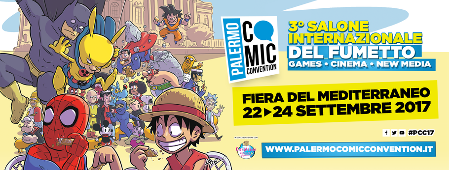 Palermo Comicon Convention - 22/24 Settembre