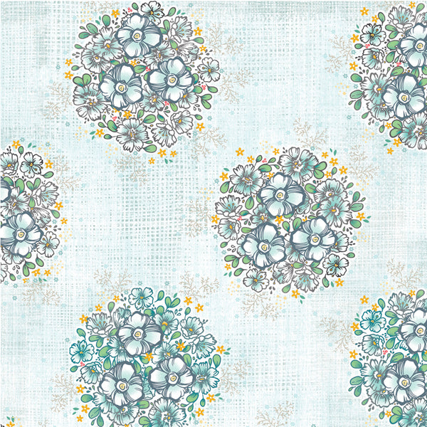 Farmhouse Fields - Bloom Polka - 1/4M