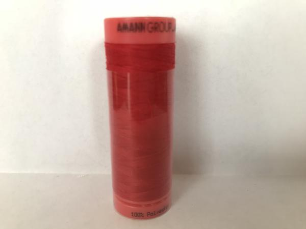 Mettler Polyester 100M Thread - Bright Red 0503