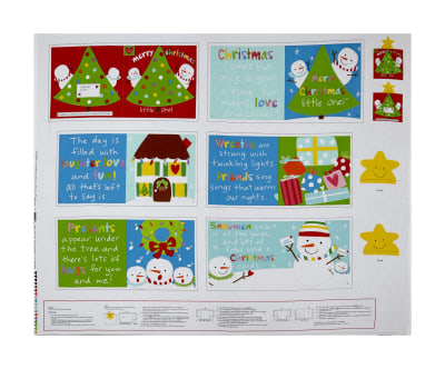 Merry Christmas Little One Book Panel