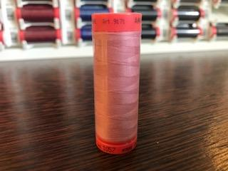 Mettler Polyester 100M Thread - Dark Dusty Pink 1057