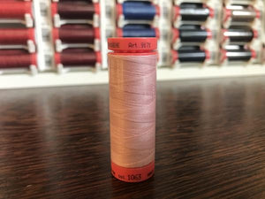 Mettler Polyester 100M Thread - Dusty Pink 1063