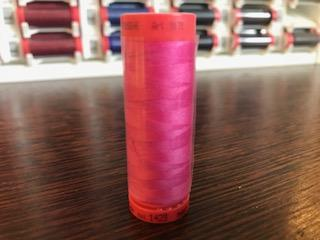 Mettler Polyester 100M Thread - Bright Pink 1423