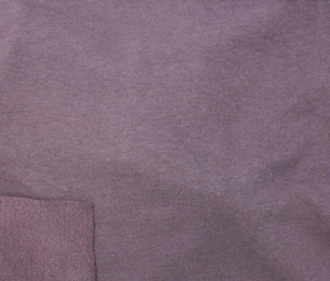 Organic Cloud Fleece - Purple - 1/2M