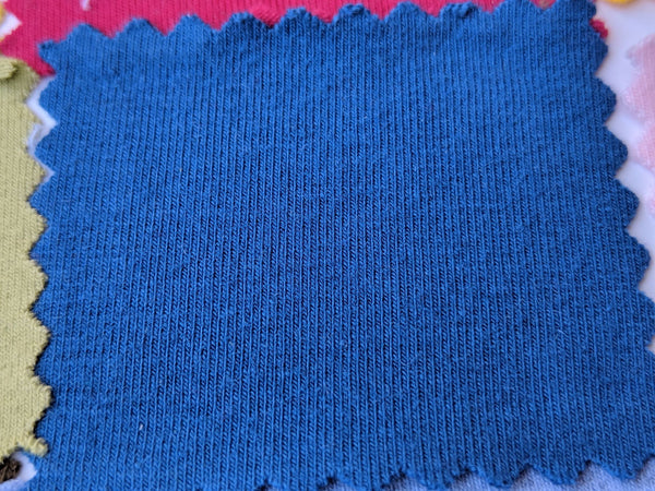 Cotton Spandex - Prussian Blue - PRE-ORDER  / 1Meter