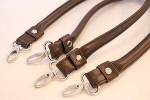 Faux Leather Bag Handles