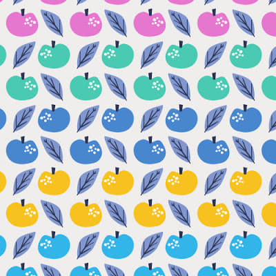 Lost Treasures / Multi Colour Apples - 1/4M
