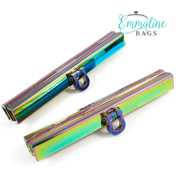 "Emmaline -  Wallet Closure 4 1/2"" Wide / Rainbow"