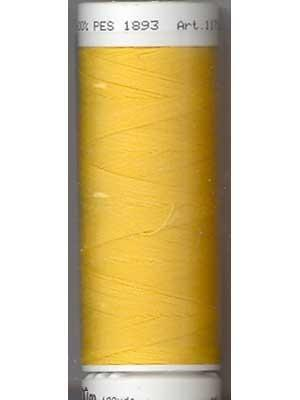 Mettler Polyester 100M Thread - Bright Yellow 0120