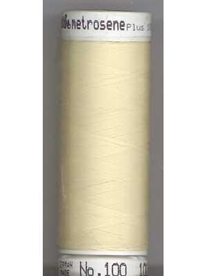 Mettler Polyester 100M Thread - Butter 0129
