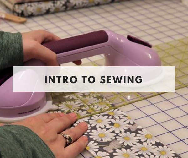 Intro to Sewing class - August 29th- Weeknight