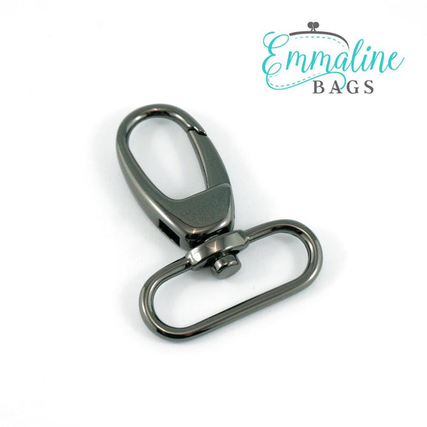 "Swivel Hooks- 1 1/2"" (38mm) Gunmetal"