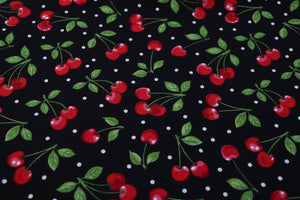 Cherries on Black - 1/4M