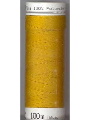 Mettler Polyester 100M Thread - Gold Yellow 0892