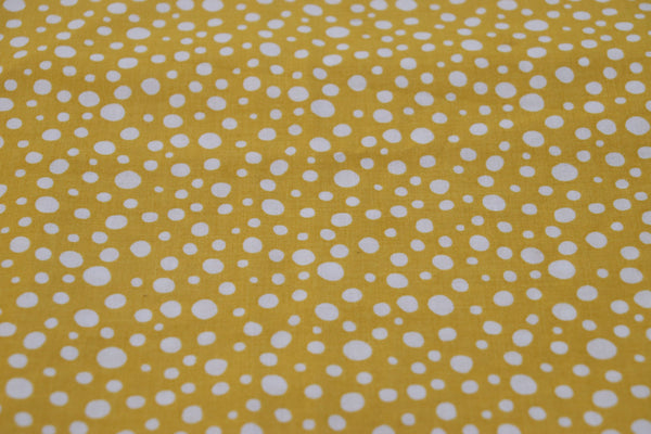 Yellow and White Dots - 1/4M