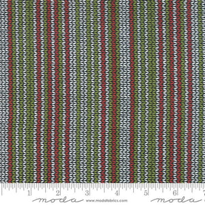Merry Starts Here by Sweetwater - Sweater Stripes Multi - 1/4M