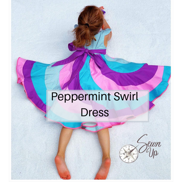 Peppermint Swirl Dress - October 27th - Weekend