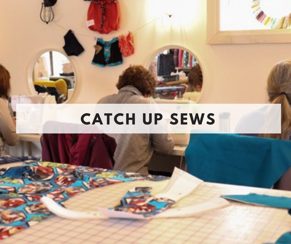 Fabric Crushers Catch up Sew - August 20th- Evening
