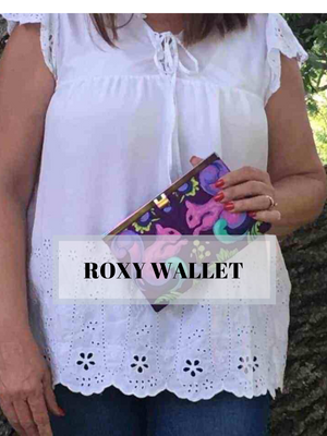 Roxy Accordion Wallet Class - October 6th - Weekend