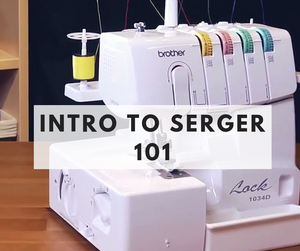 Intro to Serger class - March 17th - Weekend
