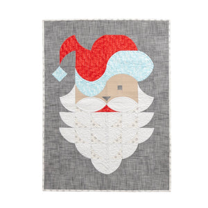 Posh Santa Quilt Pattern by - Sew Kind of Wonderful