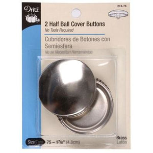 Cover Button Size 75, 1/2 Ball