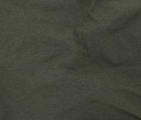 Organic Cotton Jersey - Heathered Green