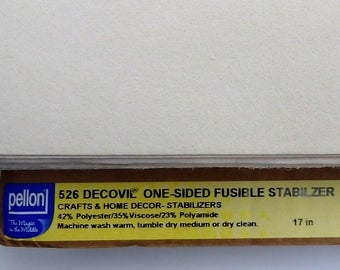 Pellon - 526 Decovil One Sided Fusible Stabilizer BOLT END