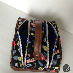 The Juniper Toiletry Bag - Pattern